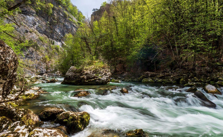 La rivière le Chéran