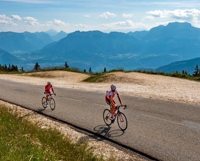 Le Semnoz en vélo