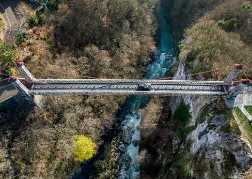 Pont de l'Abîme et Chéran